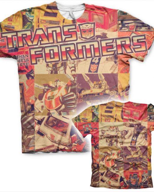 Transformers All Over Print Mens T-Shirt