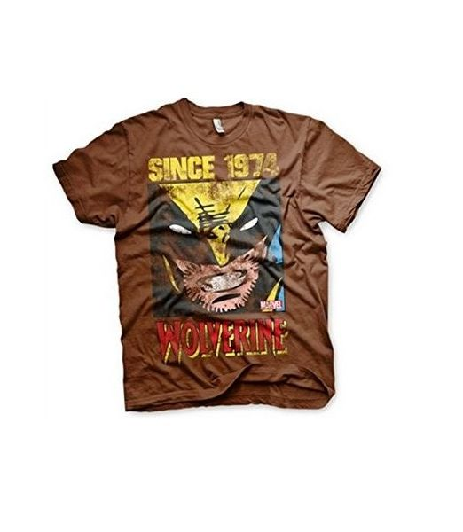 Since 1974 Wolverine brown t-shirt