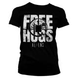 Aliens Free Hugs Girly T-Shirt