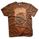 Star Wars Chewbacca Loyalty Mens T-Shirt (Brown)
