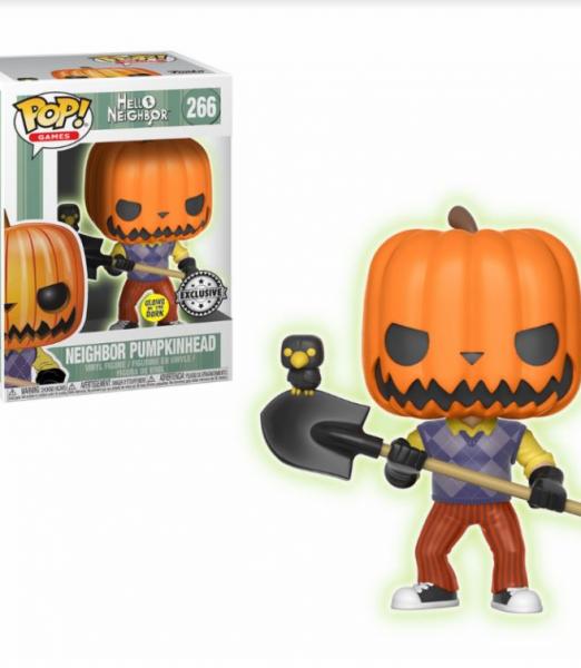 Hello Neighbor Pumpkinhead GITD Funko Pop!