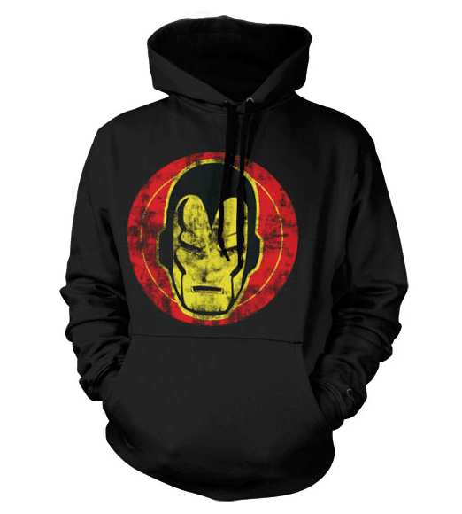Marvel Iron Man Icon Hoodie (Black)