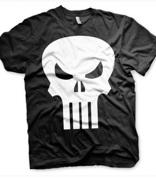 Punisher mens t-shirt Blk