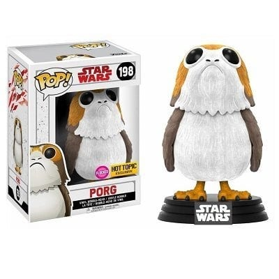 Star Wars The Last Jedi Porg with Chase Funko Pop! Hot topic exclusive