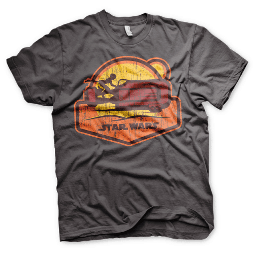 Star wars 7 Speeder Mens T-shirt