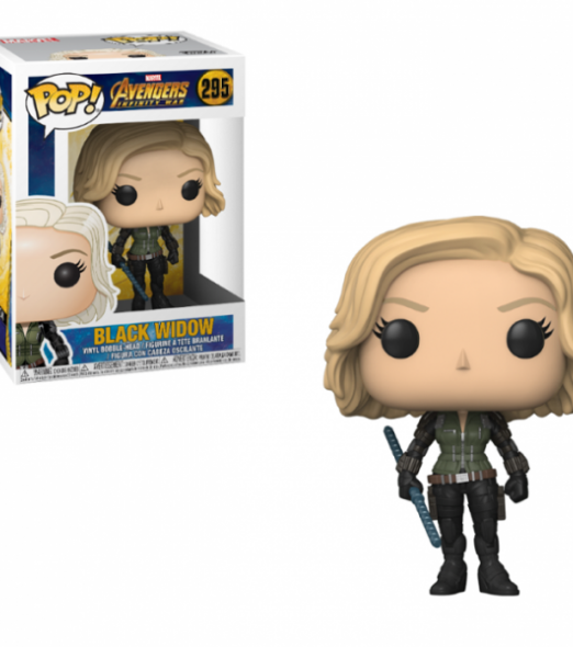 Avengers Infinity War Black Widow Funko Pop!
