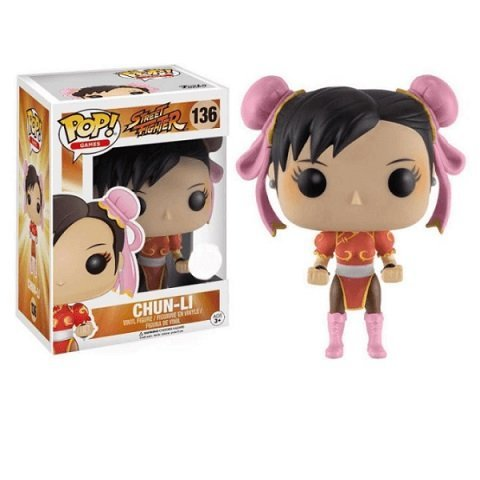 Chun-Li-red-dress-funko Pop