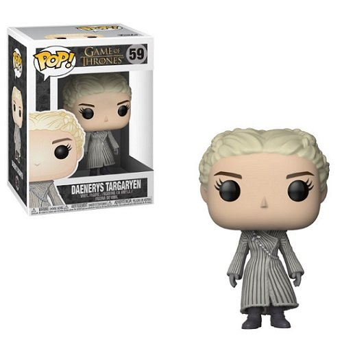 Game Of Thrones S8 Daenerys Targaryen (White Coat) Funko Pop!