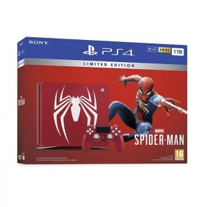 Limited edition Amazing Red Spider Man 1TB PS4 console