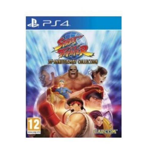 Street fighter 30th Anniversary PS4 Game