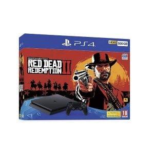 PS4 Slim Red Dead Redemption 2 Bundle