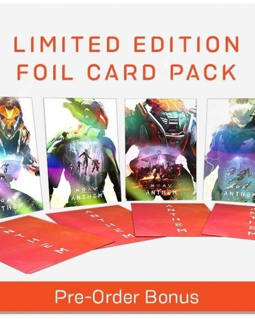Anthem Limited Edition Art Cards