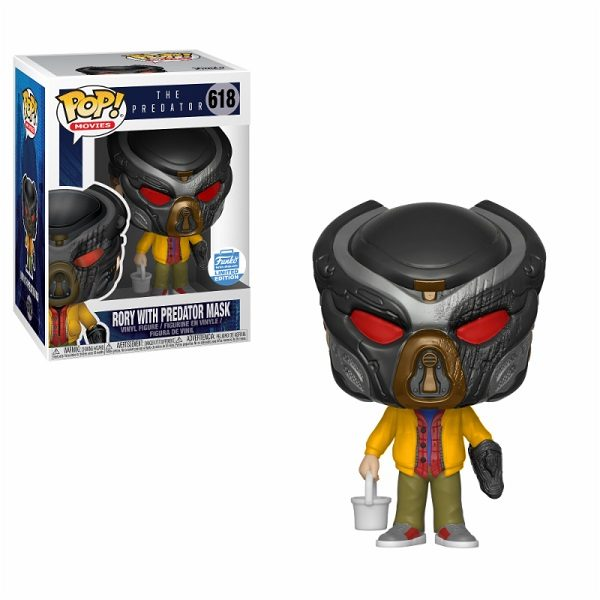 Funko POP! The Predator Rory with Predator Mask (Exc)