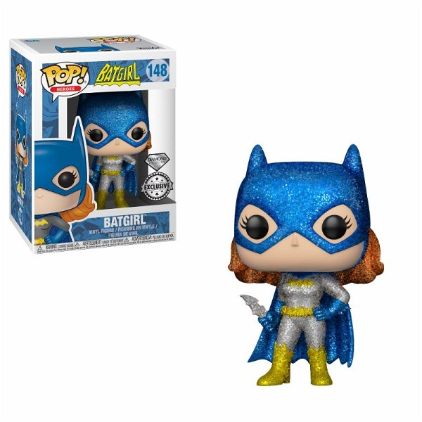 Funko POP! Vinyl DC Heroic Batgirl (Glitter) (Exc)