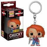 Funko POP Keychains Horror - Chucky Bloody (Exc)