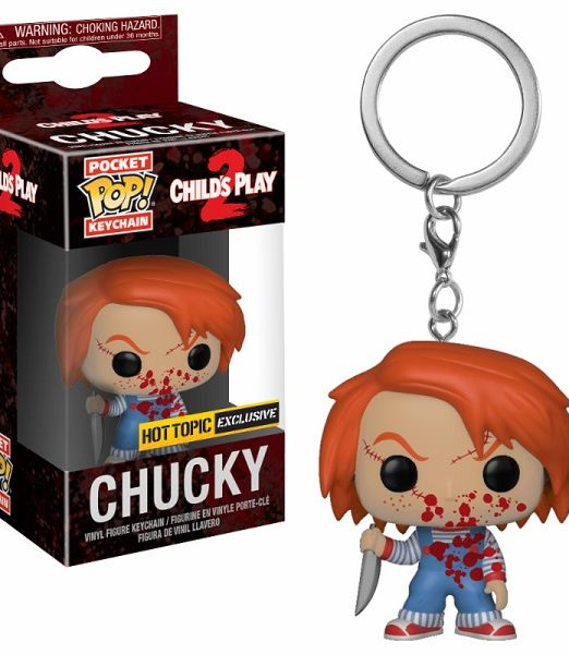 Funko POP Keychains Horror - Chucky Bloody (Exc)