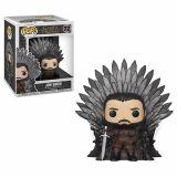 Game Of Thrones S10 - Jon Snow Sitting on Iron Throne Funko POP! Deluxe