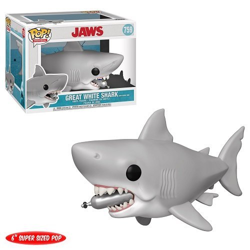 Funko 6 inch POP! Movies Jaws - Jaws with Diving tank