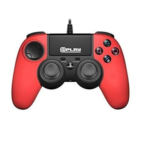 @play licensed PS4 wired controller (red)