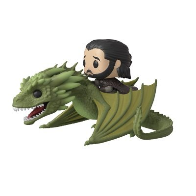 Funko POP Rides Game of Thrones Jon Snow with Rhaegal