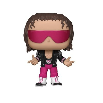 Funko POP WWE Bret Hart with jacket
