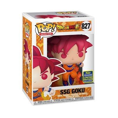 Dragon Ball Z Super Saiyan God Goku Funko Pop! in box