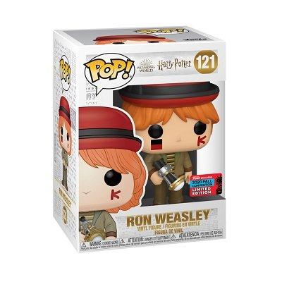 Harry Potter Ron at World Cup Funko Pop! in a box jpg