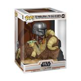 Star Wars: The Mandalorian - Mando on Bantha with The Child in Bag Funko Pop! in a box
