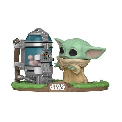 Star Wars: The Mandalorian - The Child with Egg Canister Funko Pop!