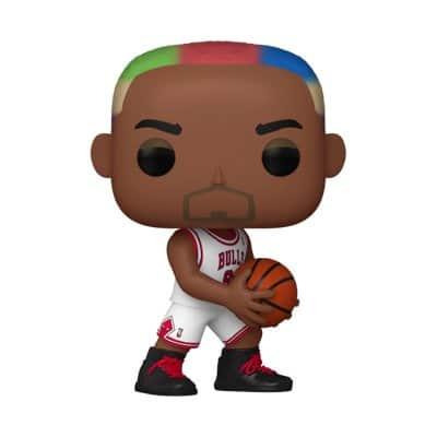 NBA Legends Dennis Rodman Chicago Bulls Funko Pop!