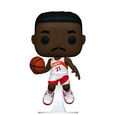 NBA Legends Dominique Wilkins Atlanta Hawks Funko Pop!