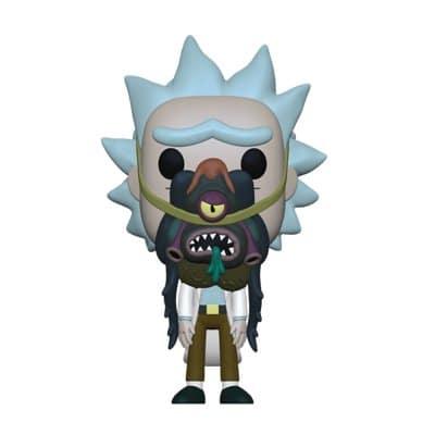 Rick & Morty - Rick with Glorzo Funko Pop!